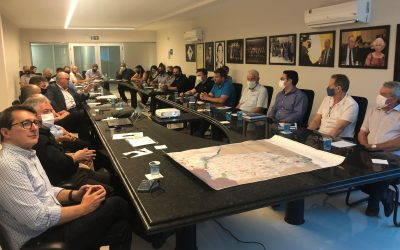 GT Ferrovias apresenta Nova Ferroeste para representantes de entidades